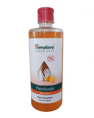 Himalaya PureHand Sanitizers – 500 ml (Orange)